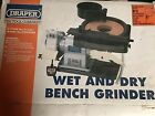 Draper Wet And Dry Bench Grinder