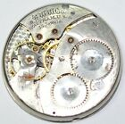 ART DECO WALTHAM POCKET WATCH MOVEMENT 39mm FOR SPARES REPAIRS P945