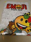 NEW EMOJI COLOR BOOK HOURS OF FUN FREE SHIP TOO TEAR OUT PAGES