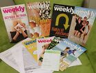 WEIGHT WATCHERS Weekly Weeklies Mini magazines Lot of 8 March April 2017 NEW