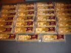 27 PACKAGES108 HERSHEYS KISSES DELUXE WHOLE ROASTED HAZELNUT CENTER SEE BELOW
