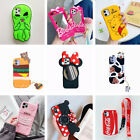 Cute 3D Cartoon Animal Character Soft Silicone Case iPhone 5S SE 6 6S 7 8 Plus X