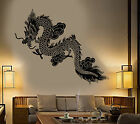 Vinyl Wall Decal Chinese Flying Dragon Fantasy Asian Style Stickers 1358ig