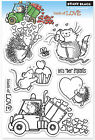Valentine Loads Of Love Clear Unmounted Rubber Stamp Set PENNY BLACK 30 146 New