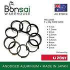 Bonsai Wire Starter Pack Japanese  Made in Japan  Anodised Aluminium 1 5mm