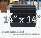 14x14 Square Rubber Foam Firm Sheets Upholstery Replacement Cushion