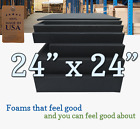 24x24 Square Rubber Foam Firm Sheets Upholstery Replacement Cushion