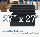 27x27 Square Rubber Foam Firm Sheets Upholstery Replacement Cushion