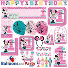 Disney Minnie Mouse Fun One 1st Birthday Party Tableware Decorations Supplies
