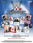 2017 Topps WWE Undisputed Wrestling Factory Sealed Hobby Box