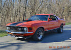 1970 Ford Mustang 2 DOOR FASTBACK 1970 MUSTANG FASTBACK MACH 1 TRIM 351 SHAKER LOADED BEAUTIFUL CALYPSO CORAL NICE