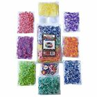 3200 Shaped Rubber Wristbands Tie Dye Rainbow Colored Loom Band Refill Kit Tie
