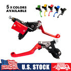 For Honda Hydraulic Brake Cable Clutch Master Cylinder Lever 7 8 Dirt MX Enduro