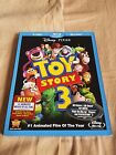 Toy Story 3 2 disc Blu Ray Set Brand New  W Slip Cover