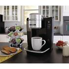 Mr Coffee Single Serve Maker Kitchen Removable Drip Tray Stainless Steel New