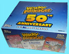 2017 WACKY PACKAGES SEALED HOBBY BOX 50TH ANNIVERSARY Trading Card Sticker Topps