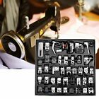 42/45/48pcs Domestic Sewing Machine Presser Foot Feet for Brother Janome Singer