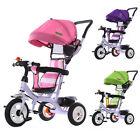 New Baby Stroller Kids Tricycle Outdoor Ride Toys Pram With Storage Box Umbrella