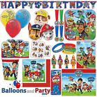Paw Patrol Puppy Birthday Party Tableware Decorations Supplies