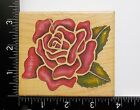 Rose By Rubber Stampede Flower Floral Wood Mounted Rubber Stamp 40A