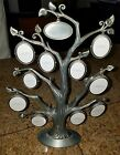 METAL FAMILY TREE PICTURE HOLDER FROM THINGS REMEMBERED HOLDS 20 PICTURES