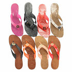 NEW Tory Burch Thora Leather Thong Sandals 6 8