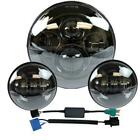 7 New Led Projector Daymaker Headlight + Passing Lights For Harley Touring BLK
