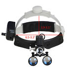 Dental Medical Headlight Headband Binocular 5W LED Light DY-106 Black UK