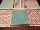 Bazzill 12 X 12 Grandmas Feather Bed Paper Collection 24 Sheets