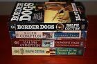 Western Book Lot of 4 by Ralph Cotton Border Dogs Gunman of the Desert Sand ++