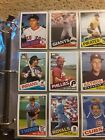 1985 Topps Baseball set 792 cards & Traded Set in binder