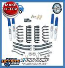 Pro Comp K3056B 4 Lift Stage I Short Arm Kit w ES Shocks for 1997 02 Jeep TJ