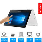 Lenovo Yoga 300 116 Touch Convertible Laptop Intel Dual Core 4GB RAM 500GB