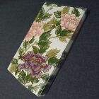 Fitz And Floyd Cloisonne Peony Paper Guest Towels Serviettes NOS 16 Count Rare