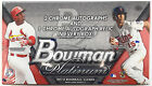 2014 Topps Bowman Platinum MLB Factory Sealed Baseball Hobby Box
