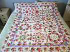 BALTIMORE SPRING KALEIDOSCOPE QUILT TOP 61 X 765 Ready to Quilt  Ships Free