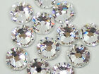 500 Gross SS10 3mm Crystal Clear Flat Back Hot Fix Iron On Rhinestone Beads USA