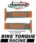 Maico 250/500 GME Domino Full Diamond Grips Grey / Orange