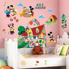 Mickey Mouse Clubhouse 3D Wall Decals Sticker Kids Nursery Decor Mural Vinyl USA