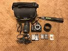 NIKON D Series D40 Black 61MP Digital SLR Camera with Accessories 70 300 Lens