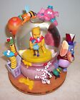 Disney Store Winnie the POOH HEFFALUMPS AND WOOZLES Musical Snowglobe