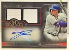 Joc Pederson 2017 Topps Museum Collection Dual GU Jersey Auto #'d 299 - DODGERS