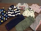 8pc Lot Baby Boys Size 9 Months Nautica Carters Chaps