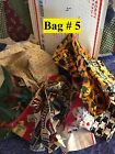 Mystery lot over 1 pound of 100 cotton fabric SCRAPS and small sections Lot  5