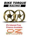 Gold OZ Piega Wheels Ducati 888 Str / SP5 93-94 Interest Free Credit Available