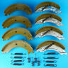2 Axle Sets of 200x50 KNOTT Type Brake Shoes for 8