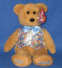 TY DAD 2006 the BEAR BEANIE BABY - MINT with NEAR PERFECT TAG