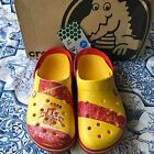CROCS Crocband SPAIN Clog Unisex Sz M9 W11 Relaxed Fit Yellow Red NEW