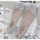 Womens Casual Shoes Jelly Hollow Out Flat Heel Sandals Flip Flops Size New f002