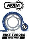 Gilera 125 XR-1 / XR-2 88-93 AFAM Upgrade Blue Chain And Sprocket Kit
